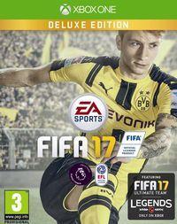 Portada oficial de FIFA 17 para Xbox One