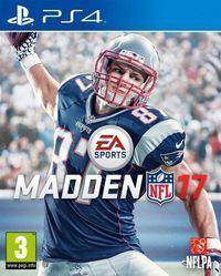 Portada oficial de Madden NFL 17 para PS4
