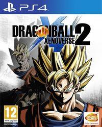 Portada oficial de Dragon Ball Xenoverse 2 para PS4