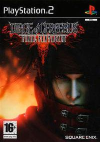 Portada oficial de Dirge of Cerberus: Final Fantasy VII para PS2