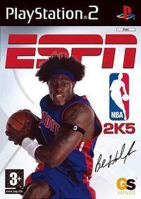 Portada oficial de ESPN NBA 2K5 para PS2