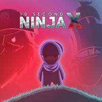 Portada oficial de 10 Second Ninja X para PS4