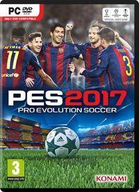 Portada oficial de Pro Evolution Soccer 2017 para PC