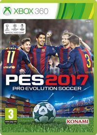 Portada oficial de Pro Evolution Soccer 2017 para Xbox 360