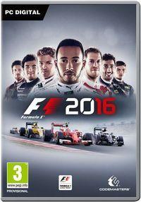Portada oficial de F1 2016 para PC