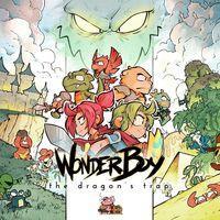 Portada oficial de Wonder Boy: The Dragon's Trap para PS4