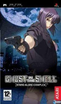 Portada oficial de Ghost in the Shell: Stand Alone Complex para PSP