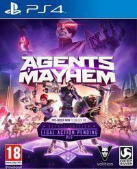 Portada oficial de Agents of Mayhem para PS4
