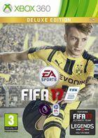 Portada oficial de FIFA 17 para Xbox 360