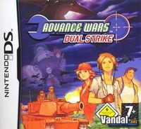 Portada oficial de Advance Wars Dual Strike para NDS