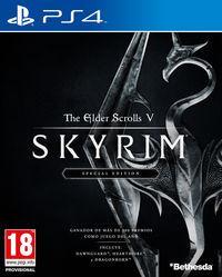 Portada oficial de The Elder Scrolls V: Skyrim: Special Edition para PS4