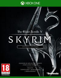 Portada oficial de The Elder Scrolls V: Skyrim: Special Edition para Xbox One