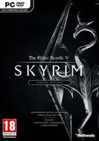 Portada oficial de The Elder Scrolls V: Skyrim: Special Edition para PC