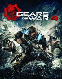 Portada oficial de Gears of War 4 para PC