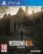 Portada oficial de de Resident Evil 7 para PS4