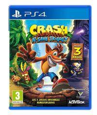 Portada oficial de Crash Bandicoot N. Sane Trilogy para PS4