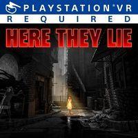 Portada oficial de Here They Lie para PS4