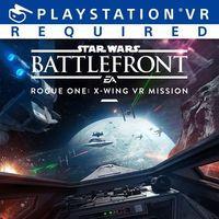 Portada oficial de Star Wars Battlefront - Rogue One: X-Wing VR Mission para PS4