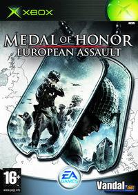 Portada oficial de Medal of Honor European Assault para Xbox
