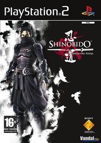 Portada oficial de Shinobido para PS2