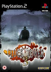 Portada oficial de Clock Tower 3 para PS2