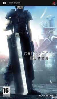 Portada oficial de Crisis Core: Final Fantasy VII para PSP
