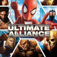Portada oficial de Marvel: Ultimate Alliance para PS4