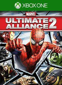 Portada oficial de Marvel: Ultimate Alliance 2 para Xbox One
