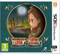Portada oficial de Layton's Mystery Journey: Katrielle and The Millionaire's Conspiracy para Nintendo 3DS