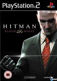 Portada oficial de Hitman: Blood Money para PS2