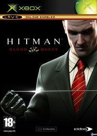 Portada oficial de Hitman: Blood Money para Xbox