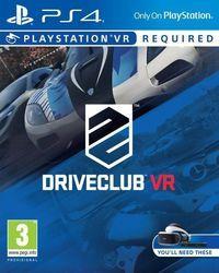 Portada oficial de Driveclub VR para PS4