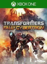 Portada oficial de Transformers: Fall Of Cybertron para Xbox One
