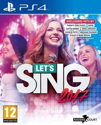 Portada oficial de Let's Sing 2017 para PS4