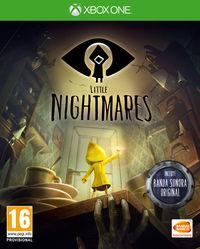Portada oficial de Little Nightmares para Xbox One