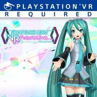 Portada oficial de Hatsune Miku: VR Future Live para PS4