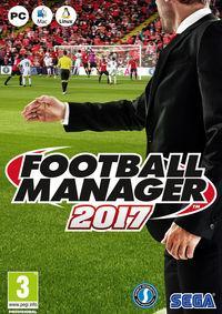Portada oficial de Football Manager 2017 para PC