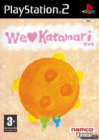 Portada oficial de We Love Katamari para PS2