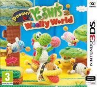 Portada oficial de Poochy & Yoshi's Woolly World para Nintendo 3DS