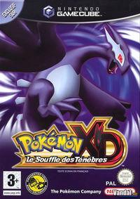 Portada oficial de Pokémon XD: Tempestad Oscura para GameCube