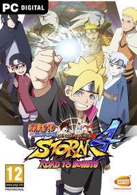 Portada oficial de Naruto Shippuden: Ultimate Ninja Storm 4 Road to Boruto para PC