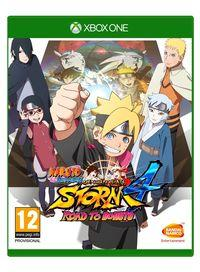 Portada oficial de Naruto Shippuden: Ultimate Ninja Storm 4 Road to Boruto para Xbox One