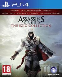 Portada oficial de Assassin's Creed The Ezio Collection para PS4