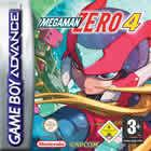 Portada oficial de Megaman Zero 4 para Game Boy Advance