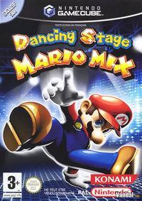 Portada oficial de Dancing Stage: Mario Mix para GameCube