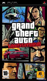Portada oficial de Grand Theft Auto: Liberty City Stories para PSP