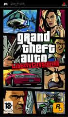 Portada oficial de Grand Theft Auto: Liberty City Stories para PSP