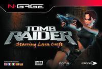 Portada oficial de Tomb Raider para N-Gage