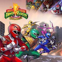 Portada oficial de Mighty Morphin Power Rangers: Mega Battle para PS4