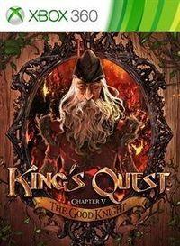 Portada oficial de King's Quest - Chapter V: The Good Knight XBLA para Xbox 360